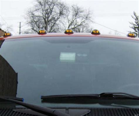 how to install lights on roof how to install led roof cab lights
