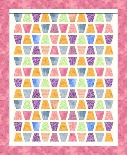 Tumbler Quilt Pattern | template and pattern tumbler quilt pattern and by