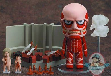 Nendoroid Colossun Titan Attack Playset attack on titan colossal titan playset nendoroid smile company of figures