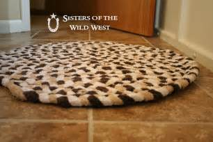 bath towel rug of the west braided rug tutorial recycling