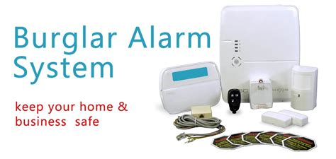 burglar alarm systems electric tools for home