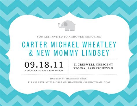 Free Baby Shower Evites by Baby Shower Invitation Free Baby Shower Invitation