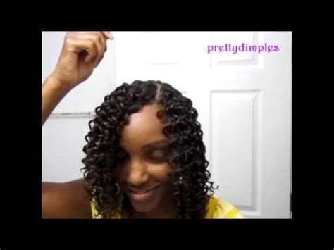 sewing a part in tracks in hair sew in with invisible part youtube