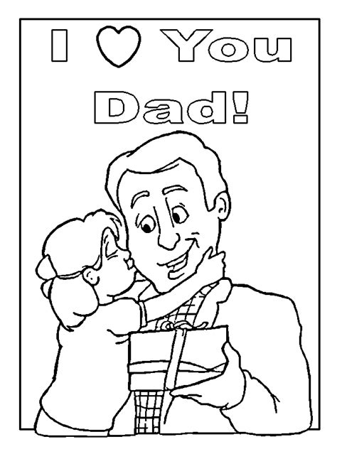 happy father s day coloring pages