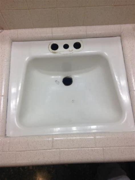 replacing bathroom sink doityourselfcom community forums