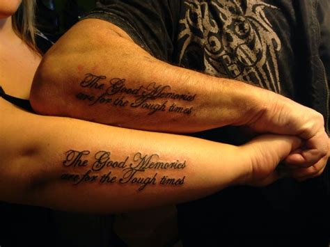 dad daughter tattoos a the memories are for the tough
