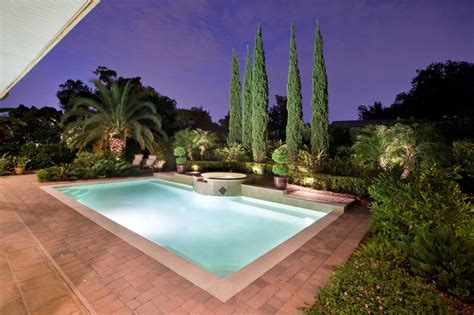 poolside landscaping photos hgtv