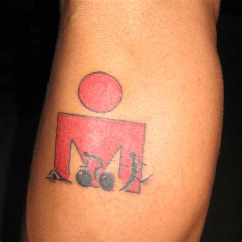 ironman tattoos ironman sports and exercise