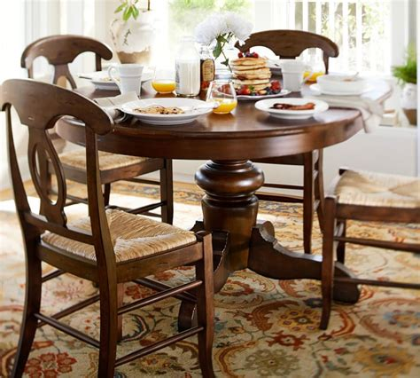 pottery barn table and chairs top 50 shabby chic dining table and chairs home