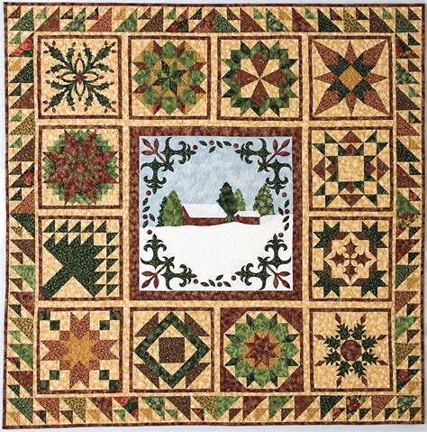 Creek Quilting by Mrs Lincoln S Dressmaker Chiaverini 2016
