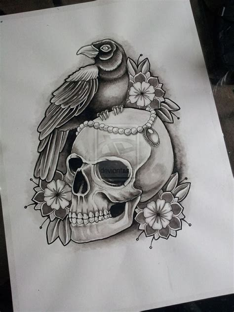 skull tattoo drawings skull drawing skulls tattoos