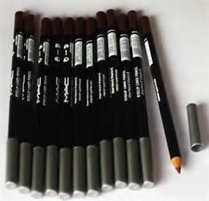 Mac Pensil Eyeliner Pencil Crayon Putar Warna Hitam Coklat Putih hal 3 blessfortuneshop