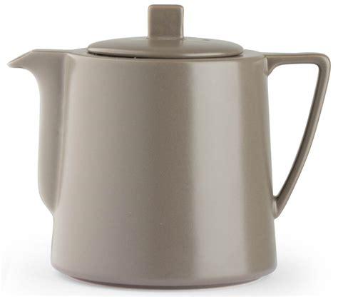 teekanne skandinavisch teekanne keramik 1 5 l grau teebereiter kanne steingut