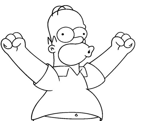 Simpsons Coloring Pages Simpsons Coloring Pages Coloring Pages To Print