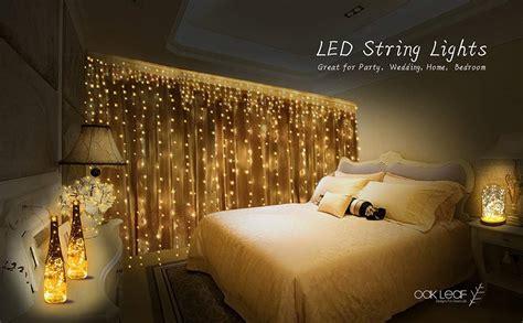 String Lights Oak Leaf 6 Set Of Micro 30 Leds 9 8 Ft