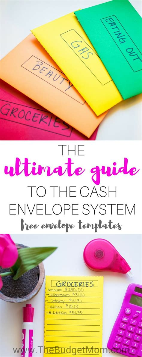 envelope budget system template 17 best ideas about envelope templates on