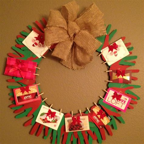 Gift Card Wreath - 138 best images about gift card trees and gift card wreaths on pinterest teaching