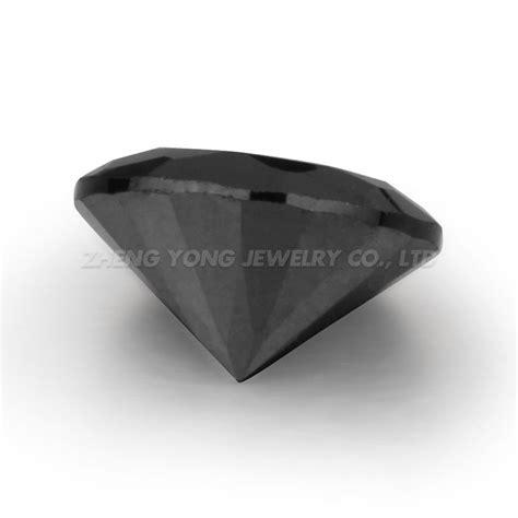 hitam berlian harga per karat cz longgar manik manik
