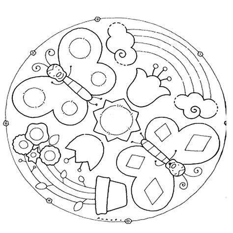disegni da colorare fiori di primavera 10 mandala della primavera da colorare mamma e casalinga