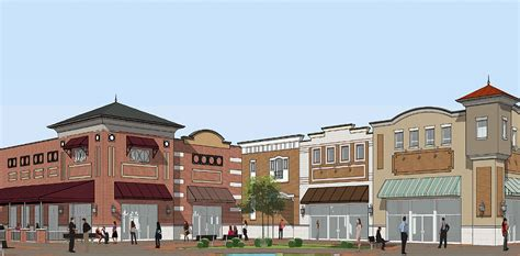 layout of columbiana mall construction of retail space in columbiana ahead of