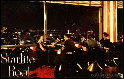 the room sf vintage postcard starlight room san francisco