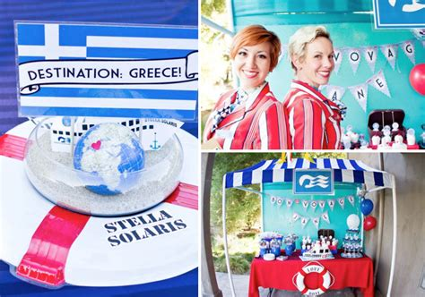 theme to love boat kara s party ideas love boat themed bon voyage farewell