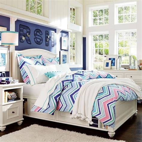 pottery barn teen chelsea storage bed cool kids rooms 17 best ideas about cool duvet covers on pinterest