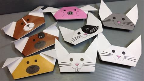 How To Make Paper Puppets Step By Step - how to fold origami animal puppets how to
