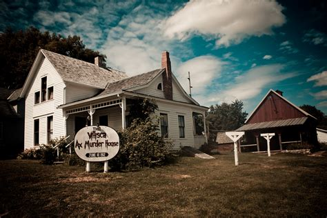 villisca axe house nightmare on your street 7 real life haunted houses and hotels