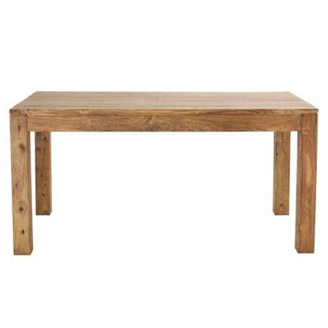 Sheesham Wood Dining Tables Solid Sheesham Wood Dining Table W 160cm Stockholm Maisons Du Monde