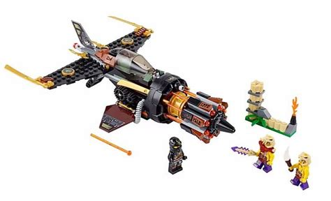 Lego Ninjago 70747 Boulder Blaster Set Cole Original Promo lego 70747 boulder blaster i brick city