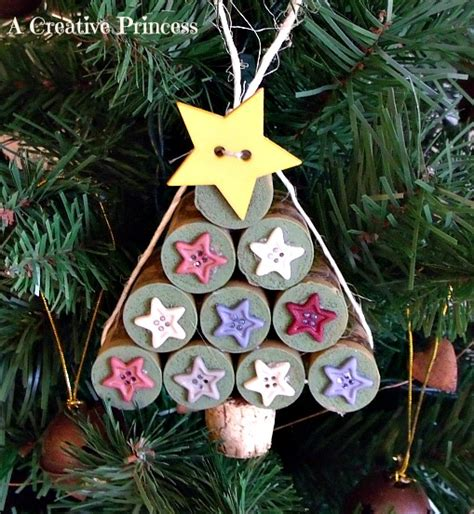 wine cork christmas tree ornaments 8 diy wine cork ornament ideas the ornament