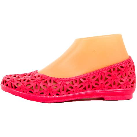 jelly flats shoes womens jelly ballet flats slip on shoes crochet hollow