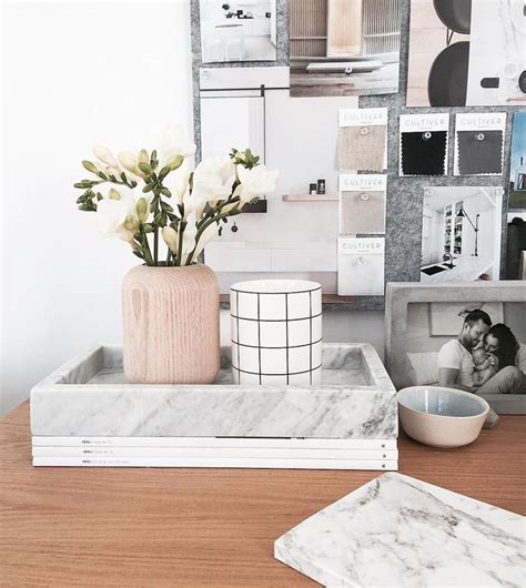 marble desk accessories regram from the talented the stables featuring our