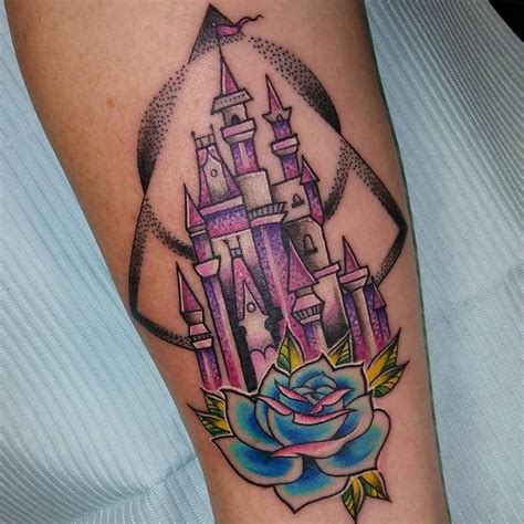 daddy s princess tattoo princess castle original design by vendal tattoonow