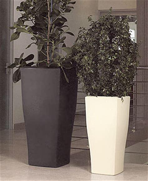 vasi resina moderni vaso quadrum in resina vasi da giardino moderni e new