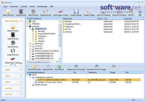 format cd brennen starburn 13 0 download windows deutsch bei soft ware net