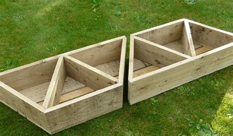 Balcony Herb Planter by 2 X Large Herb Flower Planters For Balcony Patio