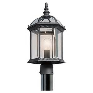 Kichler Lighting Outdoor Kichler Outdoor Lighting 49187 Barrie Collection Post Mount Traditional