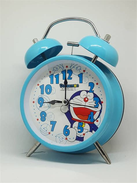 Jam Weker Fancy Clock jual jam weker alarm clock motif kartun anak karakter doraemon cars hellokitty high quality di