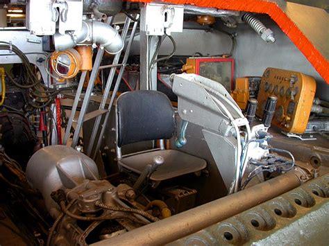 19 sherman tank interior cutaway driver seat