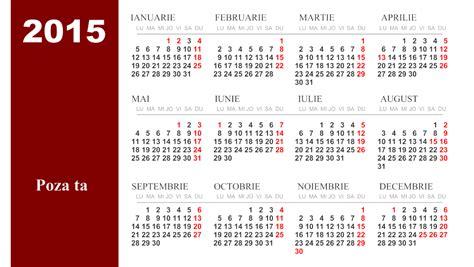 Cu Calendar Calendar Romanesc 2015 Calendar Template 2016