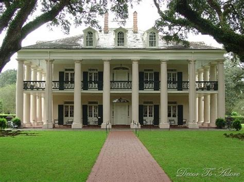 Southern Plantation Style Homes by Plantation Style House Home Pinterest