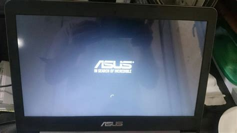 Asus Laptop Wont Turn On After Bios Update asus laptop stuck on asus logo with spinning circle it windows 10 forums
