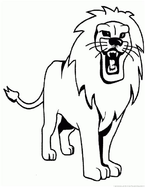lion and lamb sheets coloring pages