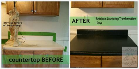 Rustoleum Countertop Before And After rustoleum countertop transformations diy show diy decorating and home improvement