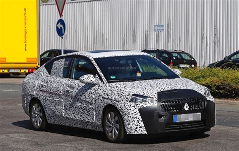 opel china 2018 opel corsa f sedan spied to be launched in china as