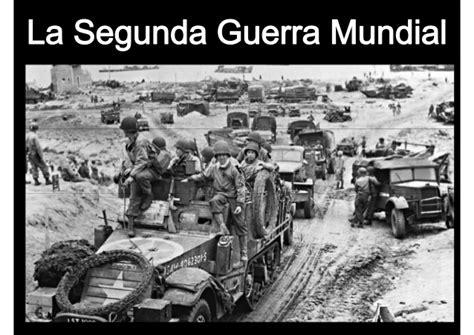 la guerra de la 8494210777 ii guerra mundial