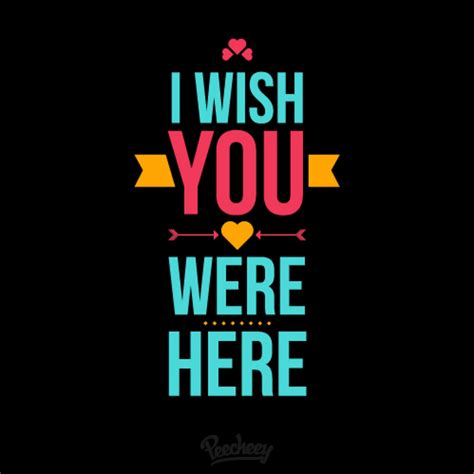 Wish You Were Here Oh Really by I Wish You Were Here Peecheey