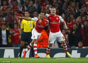 alexis sanchez how many goals for arsenal alexis sanchez found the net for arsenal but is no